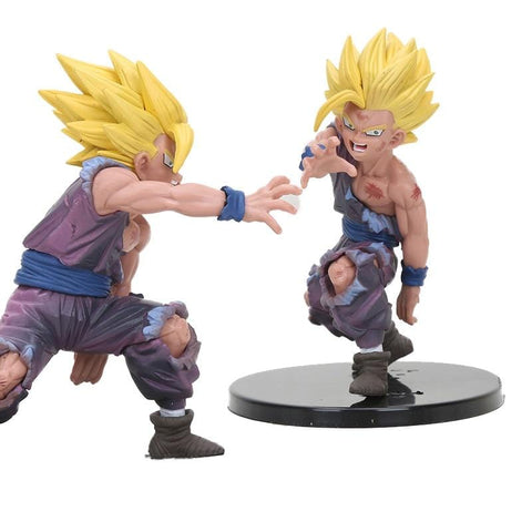 4MB Anime  Super Saiyan /Goku Gohan/ One Piece/ Dragon Ball Z Figurine - MH