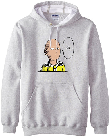 3MB New arrival Anime One Punch Man OK Hoodie - MH