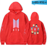 bangtan boys Men Womens Long Sleeve Hooded Sweatshirt Loose Casual Warm Hoodies Sweatshirts 6 Colors Jumper Tracksuits - MH