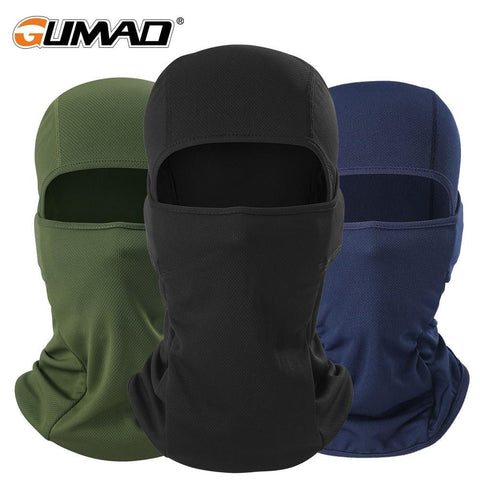 Outdoor Cycling Balaclava Full Face Mask Bicycle Ski Bike Ride Snowboard Sport Headgear Helmet Liner Tactical Paintball Hat Cap - MH
