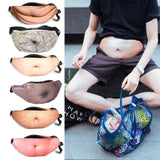 Hairy Beer Belly Fanny Pack | Dad Bag Fanny Pack - MH