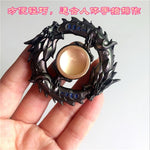 New golden Black dragon Metal Fidget spinner Zinc alloy gyro rotary EDC hand spinner for autism and ADHD Focus Stress Fingertip - MH