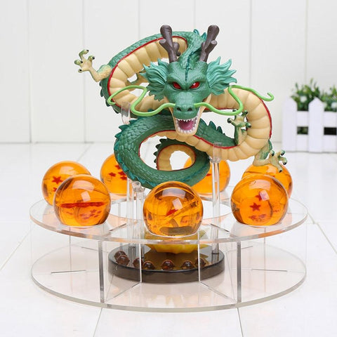 15cm Dragon Ball Z  Shenron + 7 Dragon Balls figurine