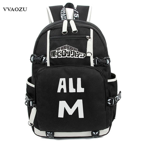 Anime Boku No Hero Academia Cosplay Backpack My Hero Academia Izuku Midoriya Rucksack Teenagers Schoolbag Shoulder Bags