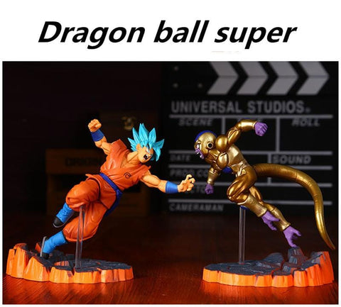 LIMITED EDITION Dragon Ball Z Resurrection F Goku vs. Frieza Figurines - MH