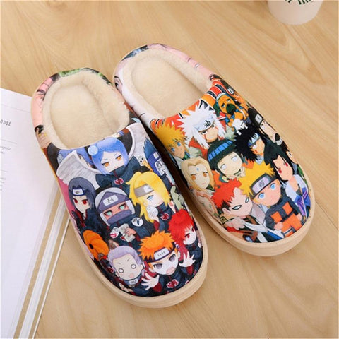 Anime Cosplay Shoes Naruto Akatsuki
