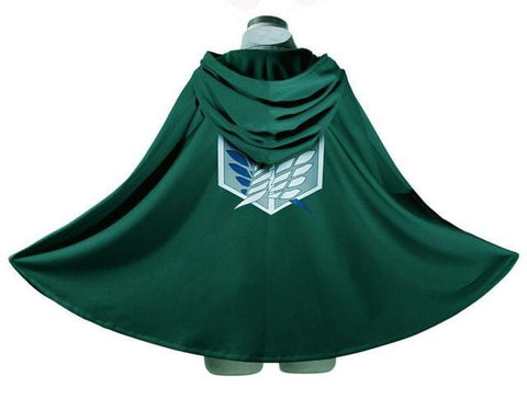 Attack On Titan X Green Survey Corps Cloak - MH