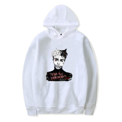 Xxxtentacion Red Face Hoodie - MH