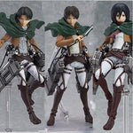 COLLECTIBLE Attack on Titan Levi x Eren x Mikasa Figurines