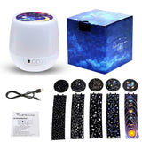 LED Night Light Moon Lamp Star Projector Luminaria Ocean Universe Sky Constellation Birthday Lights For Christmas New Year Gifts - MH