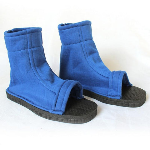Naruto Blue Konoha Cosplay Shoes