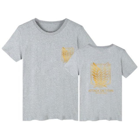 Attack on Titan x Grey Survey Corps Tee - MH