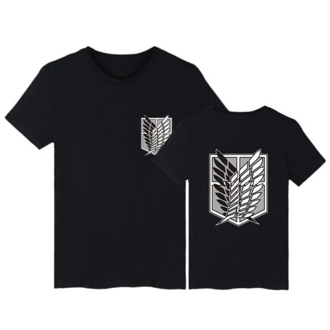 Attack on Titan x Black Survey Corps Tee - MH