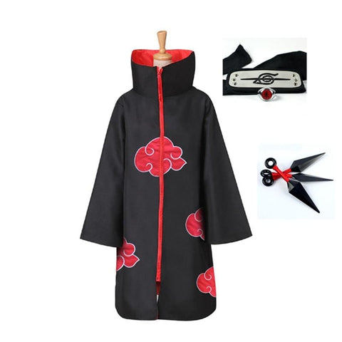 Naruto Akatsuki Costume Robe & Coat
