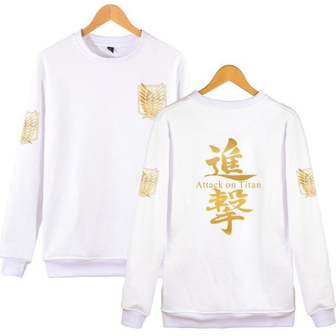 Attack on Titan x White Scouts Sweatshirt - MH