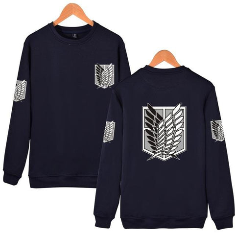 Attack on Titan x Navy Blue Scouts Sweatshirt - MH