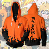 Naruto Akatsuki Clan Zipped up Hoodie - MH