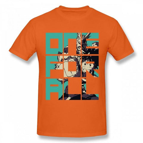 My Hero Academia Orange All Might x Deku One for All Tee - MH