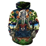 Dragon Ball Super Gou Super Saiyan God HOodie