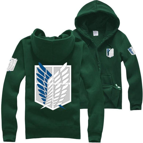 Attack on Titan x Green Survey Corps Hoodie