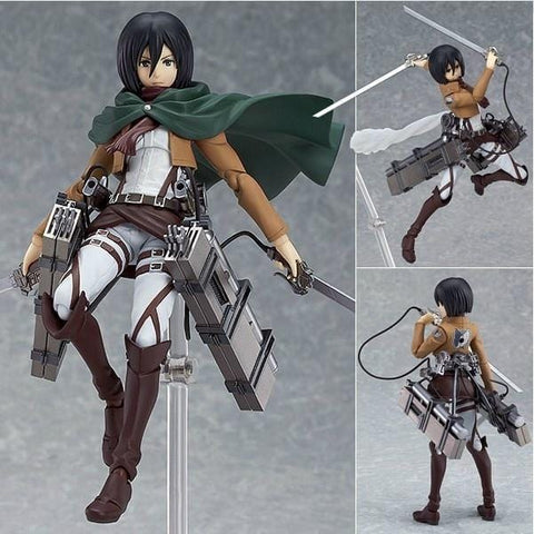 COLLECTIBLE Attack on Titan Mikasa Figurine
