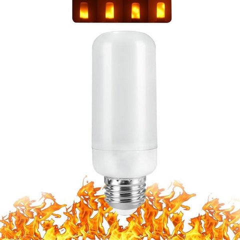 Full Model 3W 5W 7W 9W E27 E26 E14 E12 Flame Bulb 85-265V LED Flame Effect Fire Light Bulbs Flickering Emulation Decor LED Lamp - MH