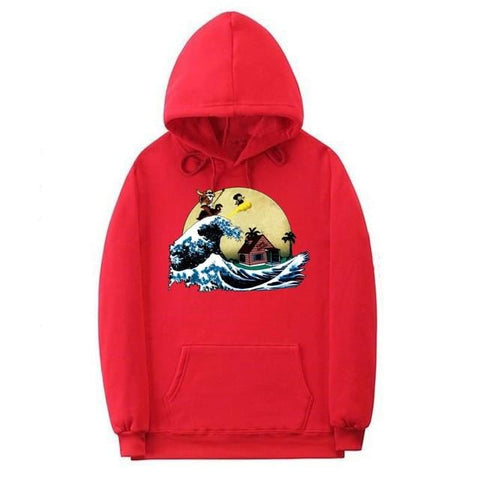 Off White x Dragon Ball Goku Hoodie - MH