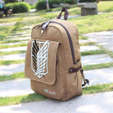 Attack on Titan Brown Scout Backpack - MH