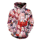 Darling In The Franxx Zero Two 002 Naughty Hoodie - MH