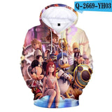 Kingdom Hearts Final Pose White Inner Hood - MH
