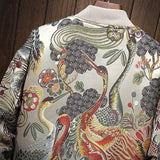 Floral Bomber Jackets - MH