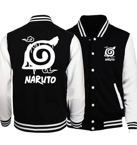 LIMITED EDITION Naruto Uzumaki Varsity Jacket