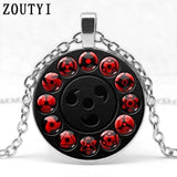New Glass Naruto Shippuden Pendant Necklace - MH