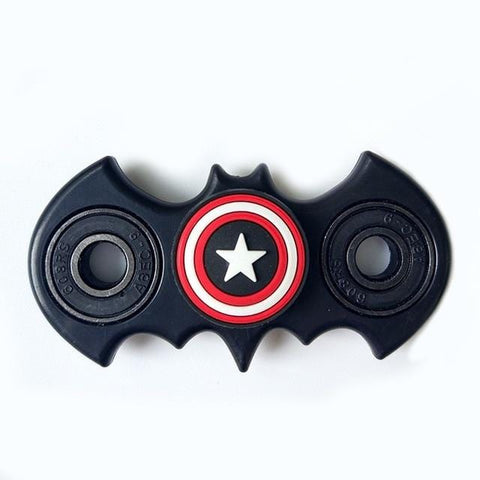 New Fidget Spinner Batman Shape Antistress EDC Captain Hand Finger Spinner Relieve Stress Austism ADHD America Handspinner Toys - MH