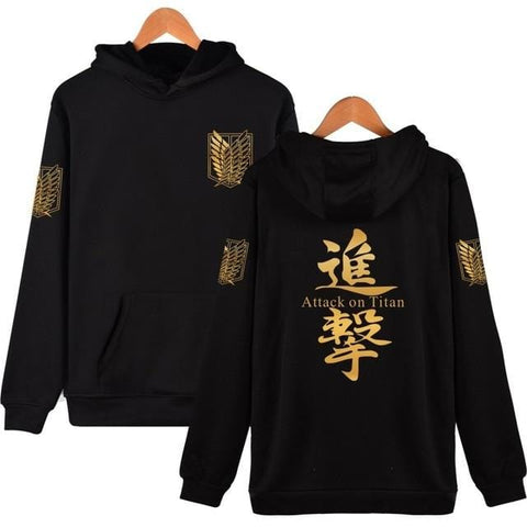 Classic Attack on Titan x Black Scouts Hoodie