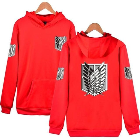 Classic Attack on Titan x Red Scouts Hoodie