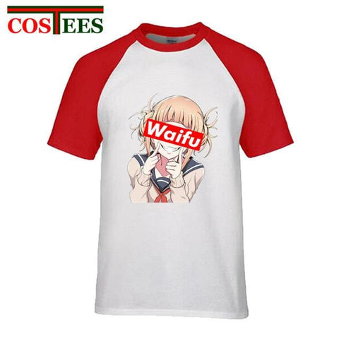 My Hero Academia Himiko Waifu Red Tee - MH