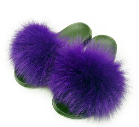 Fur Slippers - MH
