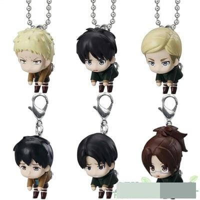 Attack on Titan Chibi Key Chains - MH