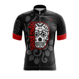 Cycling jersey with Mexican skull SerialBiker