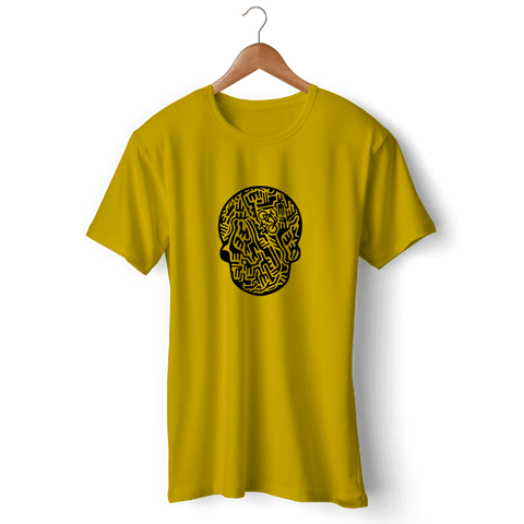 SerialBiker T-Shirt Gero Yellow