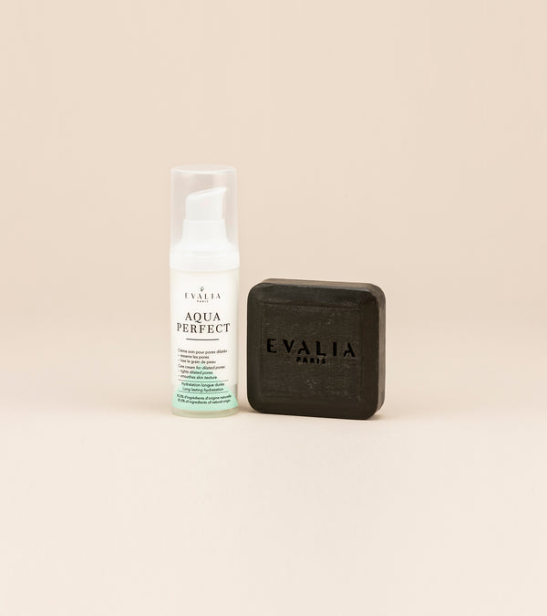 Duo : Aquaperfect + Savon anti-imperfections
