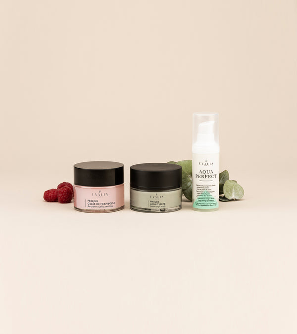 Trio : Aqua Perfect + Peeling + Masque