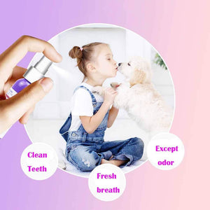 Pet Breath Freshener Oral Spray