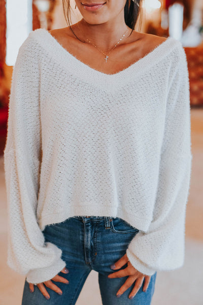 The Emily Top, White