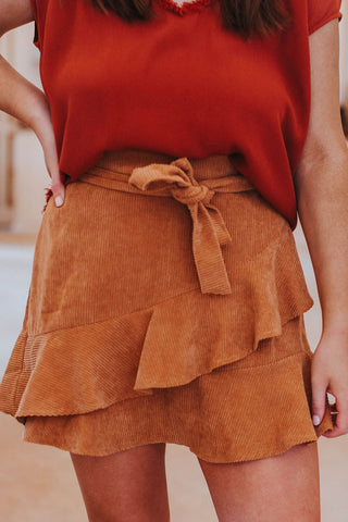 Savannah Skirt,  Camel