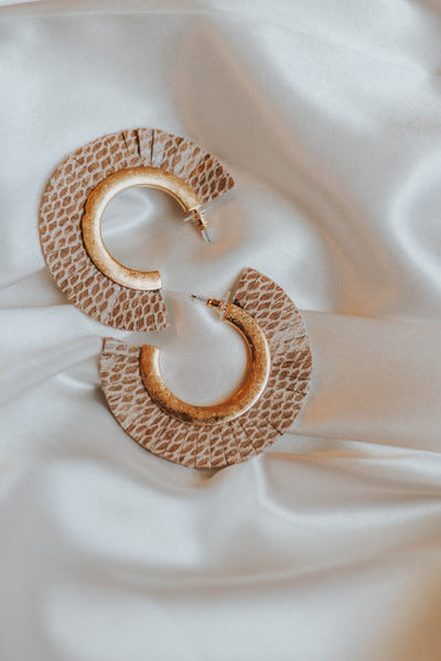 The Snakeskin Earrings