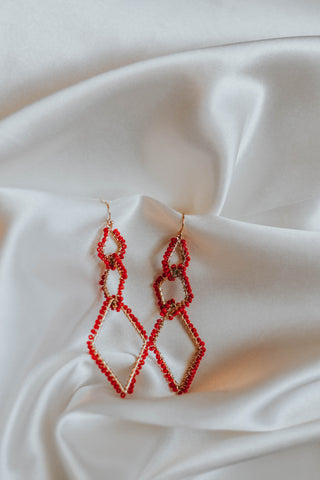The Red Hot Earrings