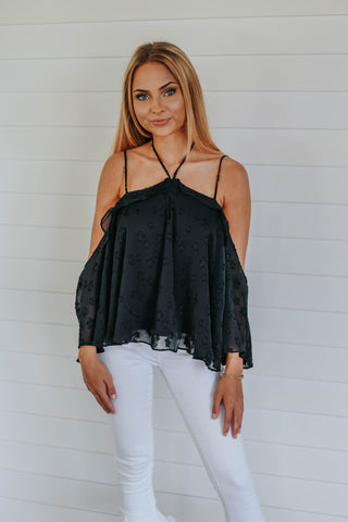 The Stargazing Top, Black