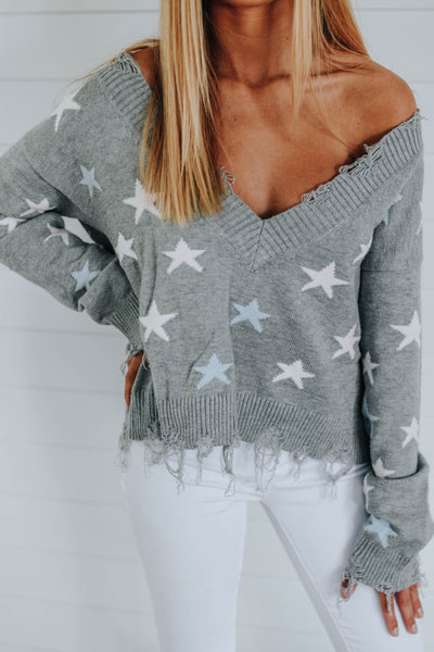The Elizabeth Sweater, Gray